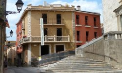 Edifici façana protegida a Cassà de la Selva