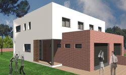 Habitatges unifamiliars adossats a Cervià de Ter