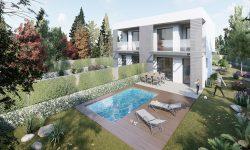 Habitatges unifamiliars adossats a Girona