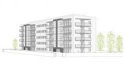 Edifici plurifamiliar de 30 habitatges a Figueres